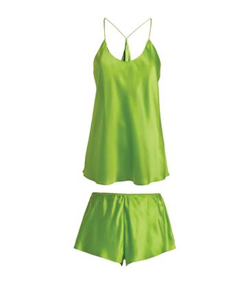 silk pajamas Camisole short set
